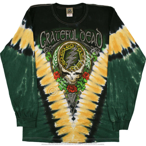 Long Sleeve GD Shamrock V Tie Dye