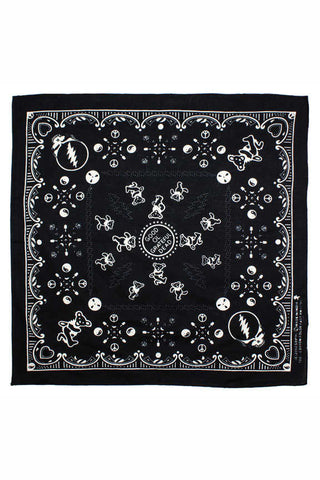Grateful Dead Good Ol' Bandana - Black