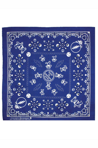 Grateful Dead Good Ol' Bandana - Blue