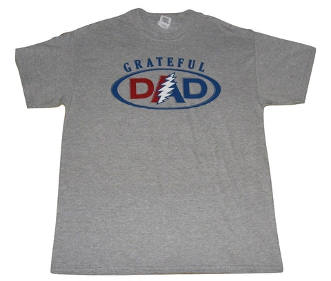 Grateful Dad Short Sleeve Solid T Shirt
