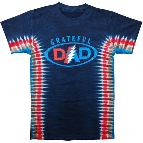 Grateful Dad Short Sleeve Tie Dye T Shirt