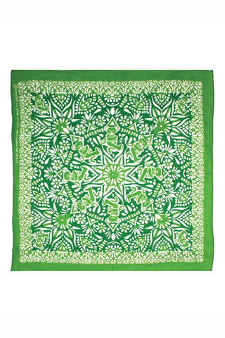 Grateful Dead Green Dancing Bears Mandala Bandana