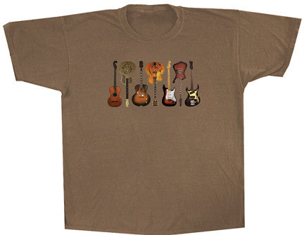 Guitars 2 solid T shirt