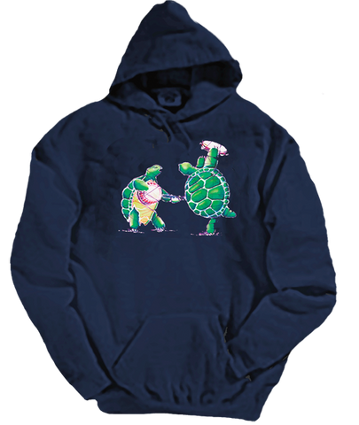 Grateful Dead Terrapin Station Turtles - Hoodie with Pouch- Free Shipping