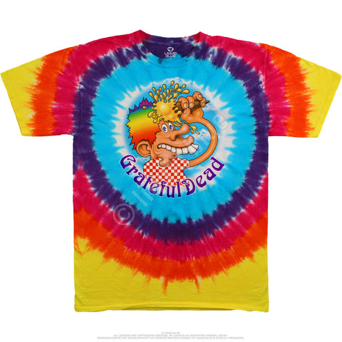 Europe 72 Ice Cream Cone -  2 Sided Tie Dye T-Shirt, Sizes M-2XL