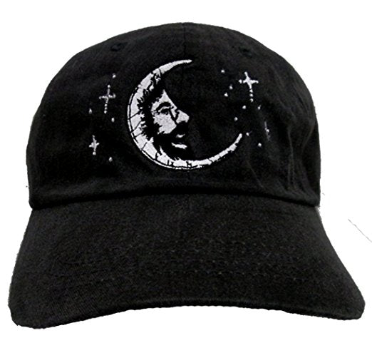 Grateful Dead Jerry Moon Baseball Cap - Black