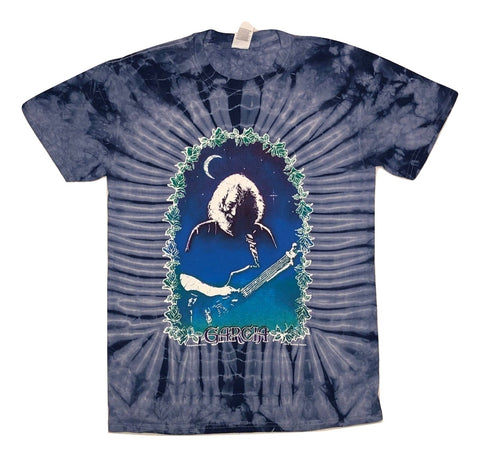 Grateful Dead - Jerry Roses Tie Dye T Shirt
