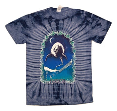 Grateful Dead Jerry Roses Tie Dye T Shirt