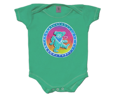 Grateful Dead Dancing Bear Infant Onesie