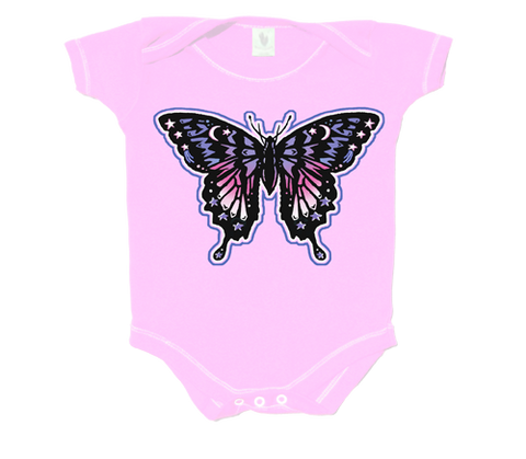 z*Butterfly Infant Onesie