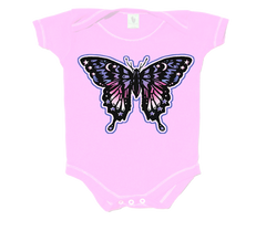 Butterfly Pink Infant Onesie