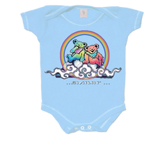 Smilin Bears On A Cloud Infant Onesie