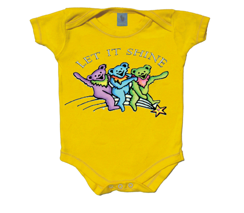 Grateful Dead Let It Shine Baby Onesie