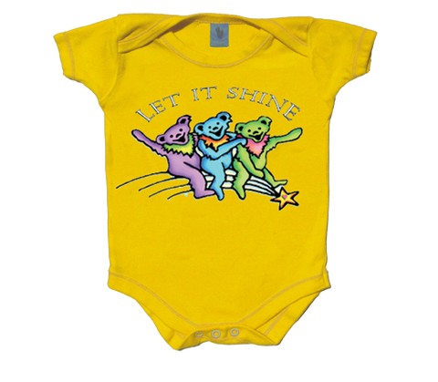 Grateful Dead Let It Shine Infant Onesie