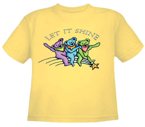 Let It Shine Bears Toddler T Shirt