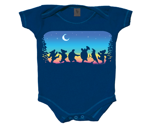 Grateful Dead Moondance Infant Onesie