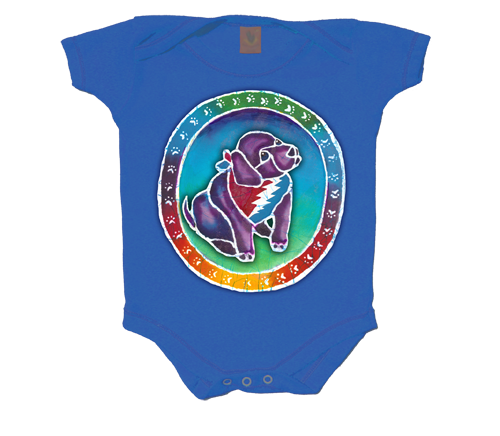 Grateful Dead Puppy Infant Onesie