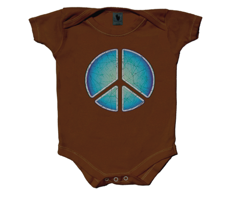 Peace Sign Infant Onesie