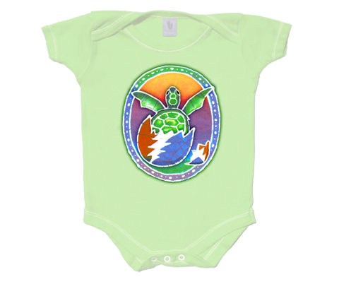 Grateful Dead Turtle Infant Onesie