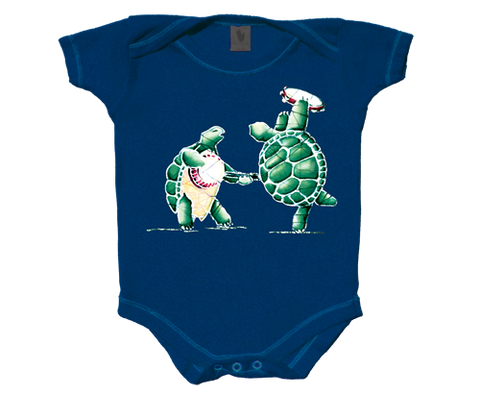 Grateful Dead Terrapin Turtle Infant One Piece Romper