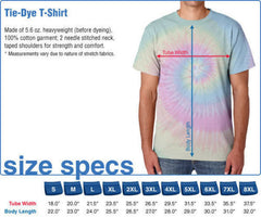 Grateful Dead - Rainbow Bertha Tie Dye T Shirt