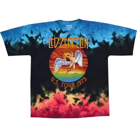 LED ZEPPELIN ICARUS 1975 TIE-DYE T-SHIRT Sizes M - 6XL