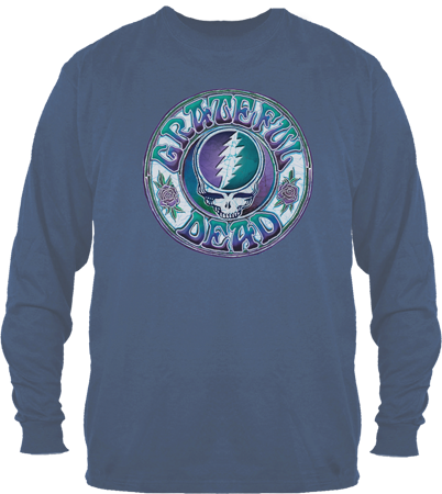 Batik Steal Your Face Long sleeve Shirt