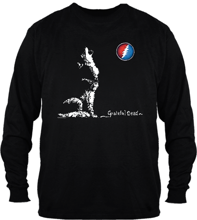 Grateful Dead Dire Wolf Long Sleeve T Shirt