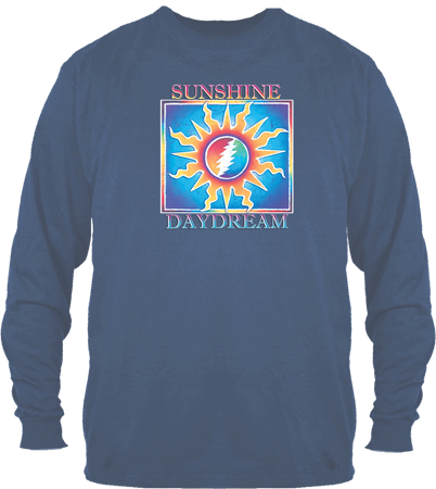Grateful Dead Sunshine Daydream Long Sleeve Purple