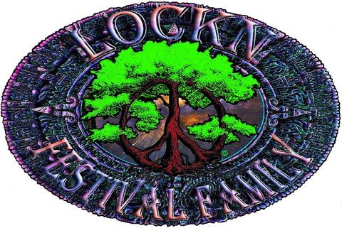 Lockn' Festival Family Removable Sticker