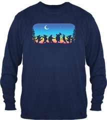Grateful Dead Moondance Long Sleeve T Shirt -Solid