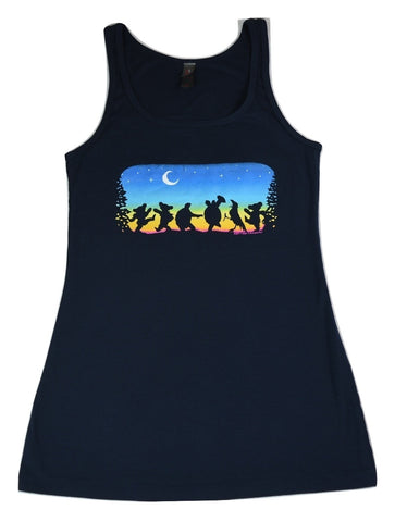 Moondance Ladies Tank Top - Navy