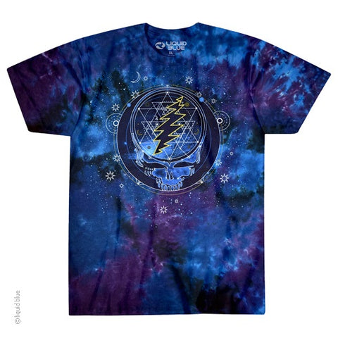 Grateful Dead -Mystical Stealie - Tie Dye T Shirt Sizes M - 6XL