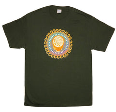 Grateful Dead - Steal Your Face Orange Sunshine Solid T Shirt