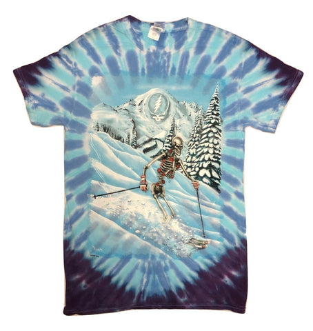 Grateful Dead Powderman Short Sleeve Tie Dye T Shirt