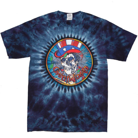 Grateful Dead Psycle Sam Short Sleeve Tie Dye T Shirt