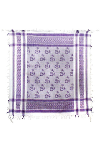 Grateful Dead Dancing Bears Keffiyeh Triangle Scarf