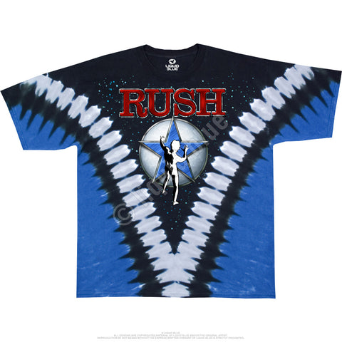 RUSH STARMAN TIE-DYE T-SHIRT