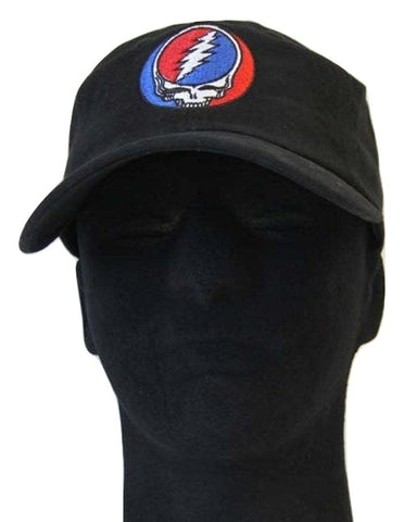 Grateful Dead Classic Steal your Face Baseball Cap - Black