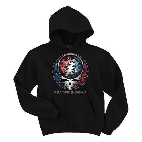 Grateful Dead Bertha Steal Your Face  Hoodie