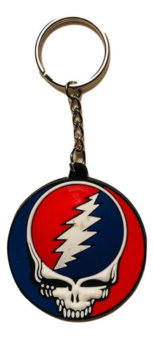 Grateful Dead Classic SYF Rubber Key Chain
