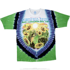 Grateful Dead Sunflower Tie Dye T Shirt