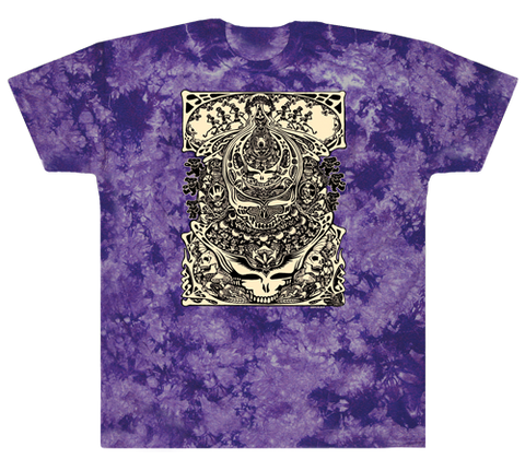 Grateful Dead - Aiko Aiko  Tie Dye T Shirt - Purple