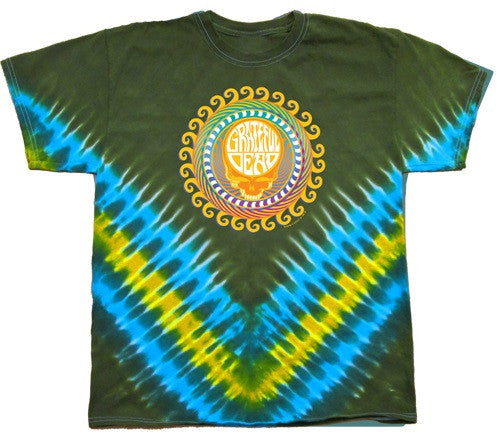Grateful Dead - Steal Your Face Orange Sunshine T Shirt
