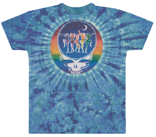 Grateful Dead Tie Dye Dance Your Face T Shirt
