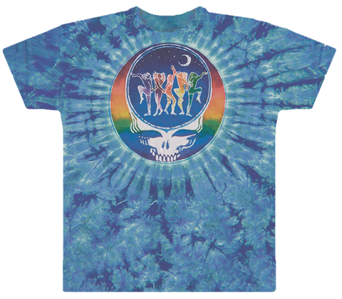 Grateful Dead - Dance Your Face  Tie Dye T Shirt