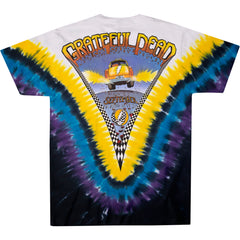 Grateful Dead - NYC Taxi Cab Tie Dye T Shirt