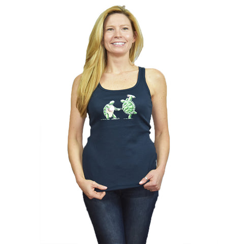 Terrapin Turtles Ladies Tank Top