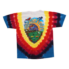 Grateful Dead Summer Tour Bus Youth Tie Dye T Shirt