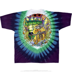 Grateful Dead Tie Dye Watch Tower T Shirt